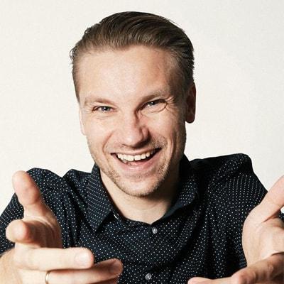 Jakob Svendsen Stand-up Komiker og Konferencier