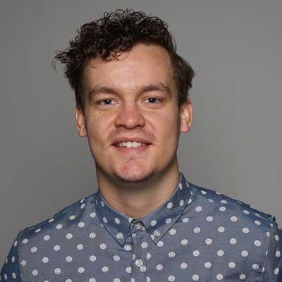Simon Talbot Skuespiller Stand-up Komiker og Konferencier